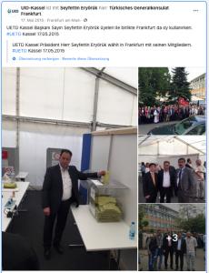 Seyfettin Eryörük ist der Vorsitzende der Kasseler UID.
